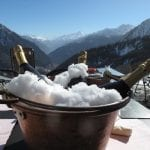 Champagne On Ice in Courmayeur