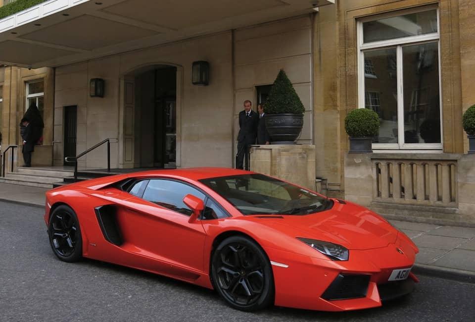 Lamborghini in Knightsbridge