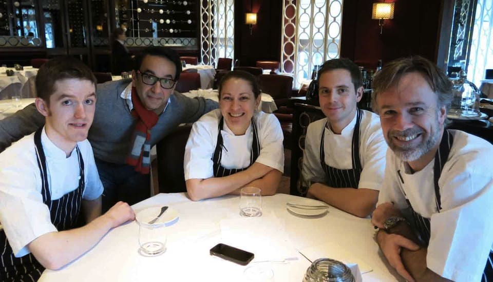 Marcus Wareing and Team