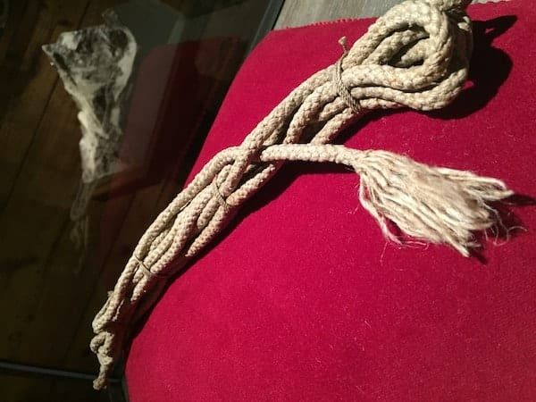 Edward Whymper Rope from the Matterhorn
