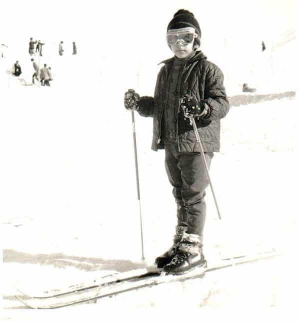 Amin Momen Ski Boots Child