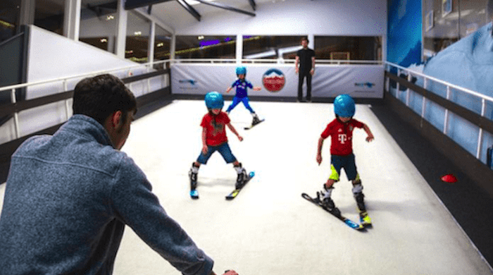 How Indoor Skiing Can Boost You & Your Children's Confidence
