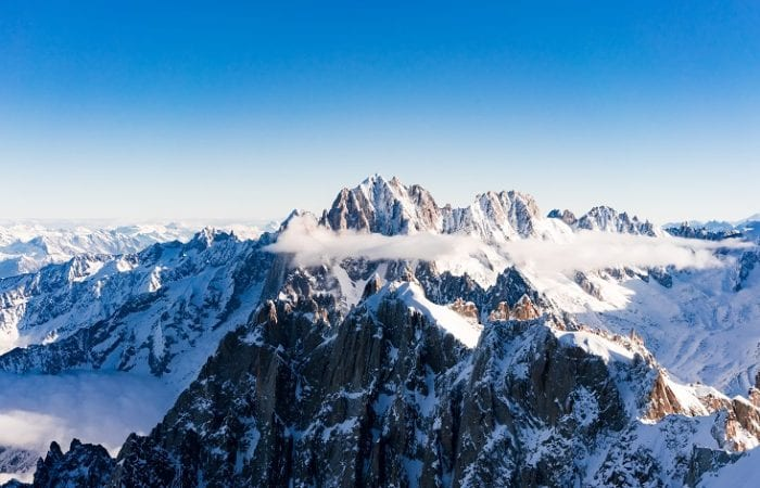 Skiing the Mont Blanc Area: Chamonix or Courmayeur?