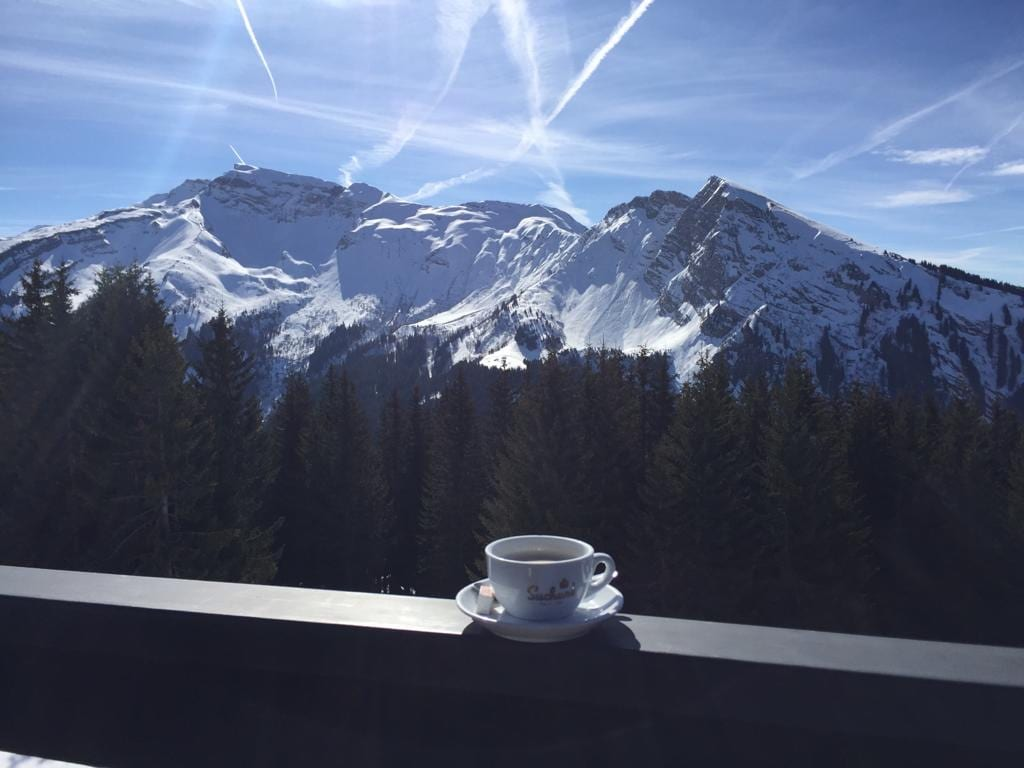 How to Drink Coffee Like an Italian in the Alps This Winter