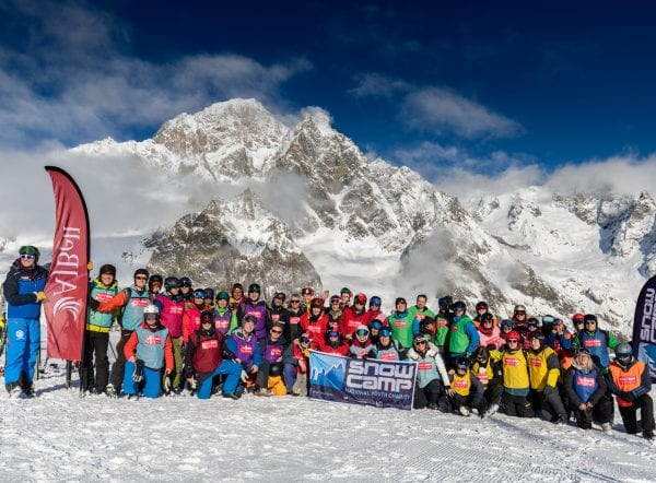 Snow-Camp AJ Bell Courmayeur Classic